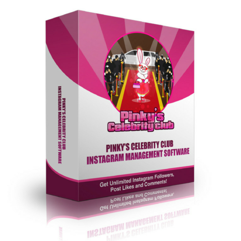 Get more followers on Instagram with Pinky's celebrity club management software