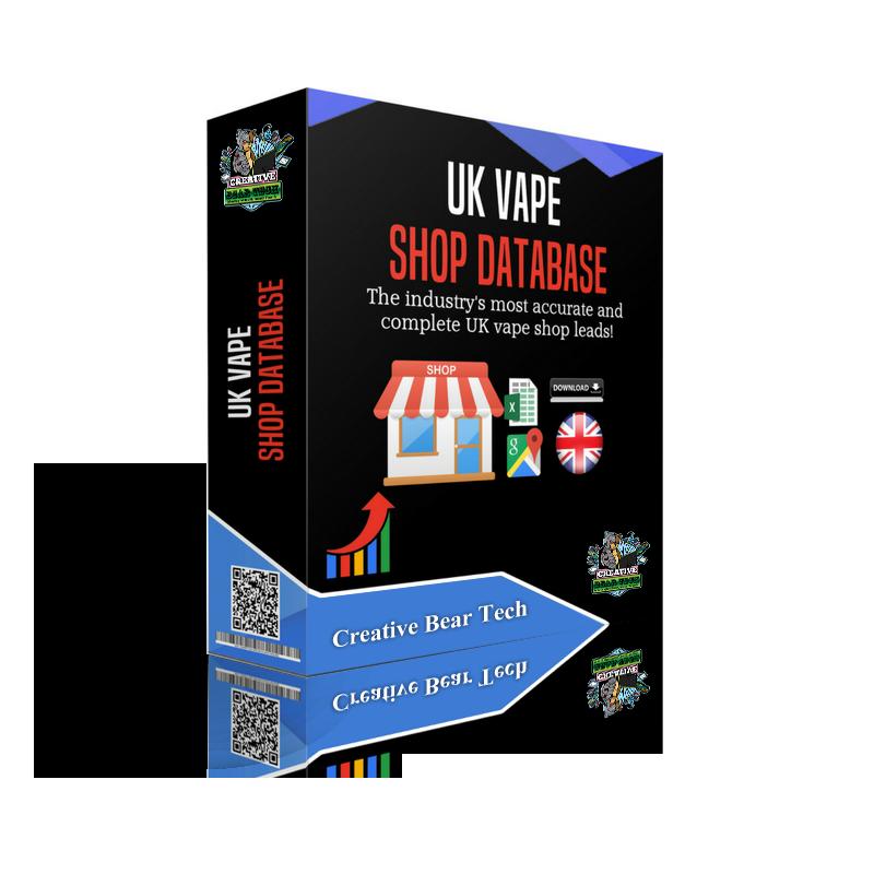 UK Vape Shop Database - E-Mails & Contact Details of UK Vape Shops