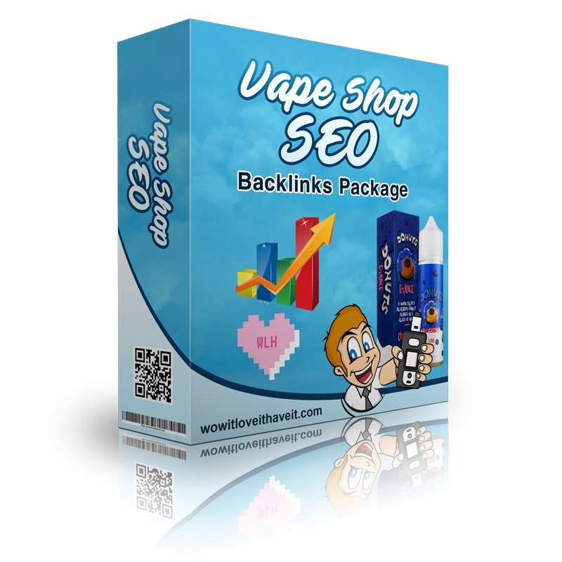 Vape SEO backlinks packages