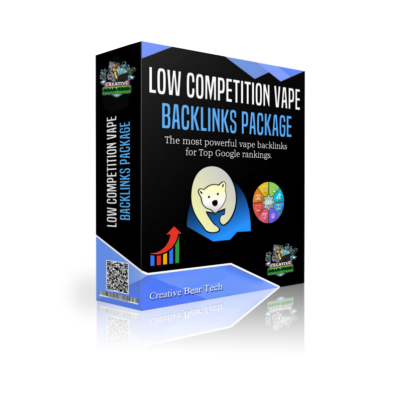 The low competition package for shops where competition is low