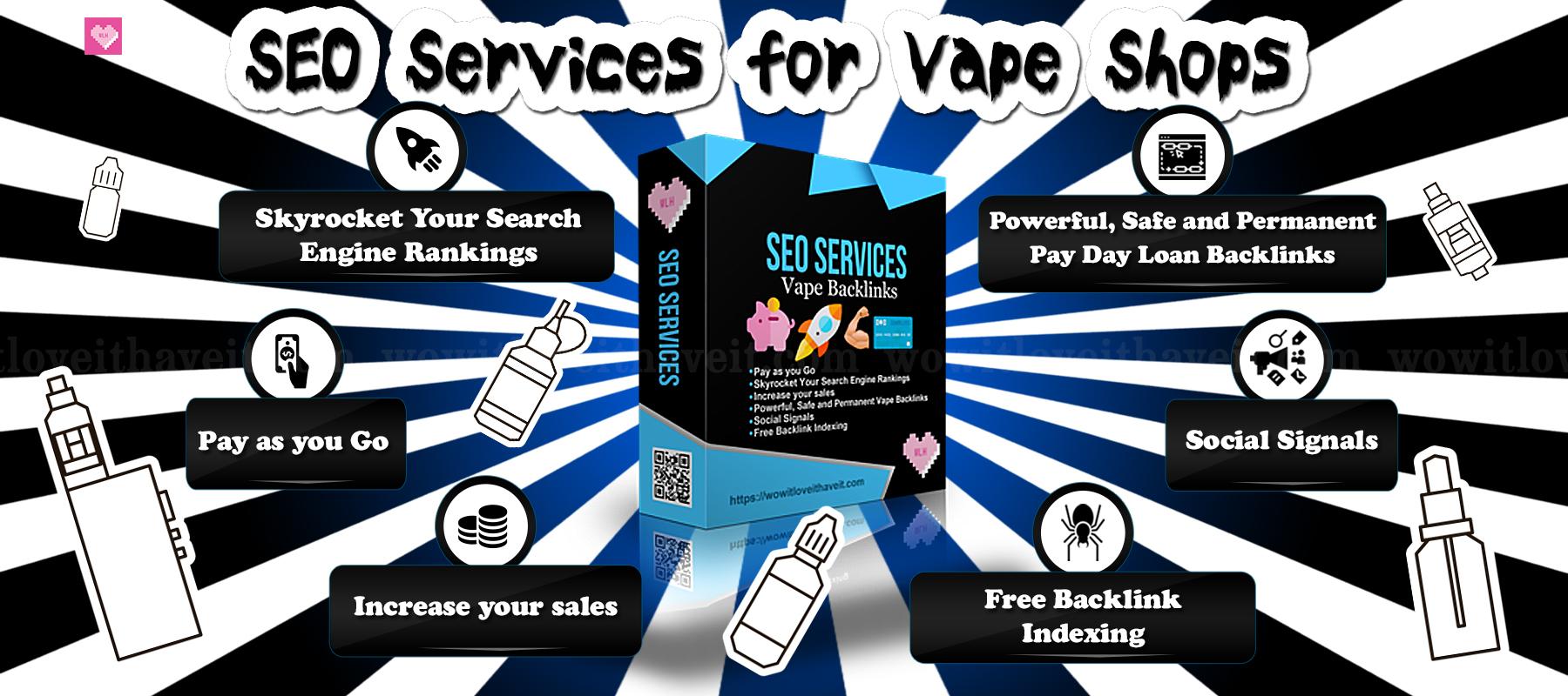 Vape SEO Monthly Package For Online Vape Shops
