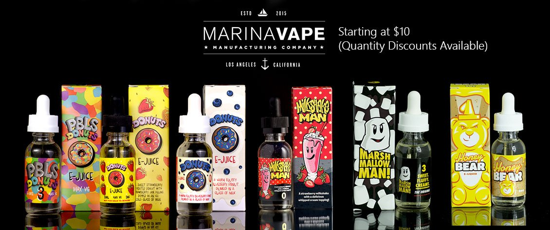 REACH OUT TO E-LIQUID BRANDS AND VAPE HARDWARE BRANDS AND MANUFACTURERS