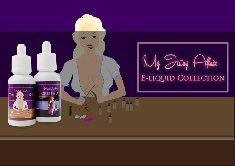 MY JUICY AFFAIR Luxury E-Liquid Collection was created for Vaping Connoisseurs, Cloud Chasers and Sub Ohmers who like to enjoy a quality and 'vapegasmic' vape.